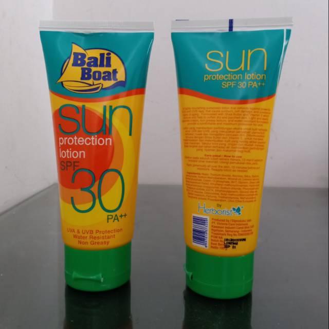 sunblock badan waterproof untuk berenang