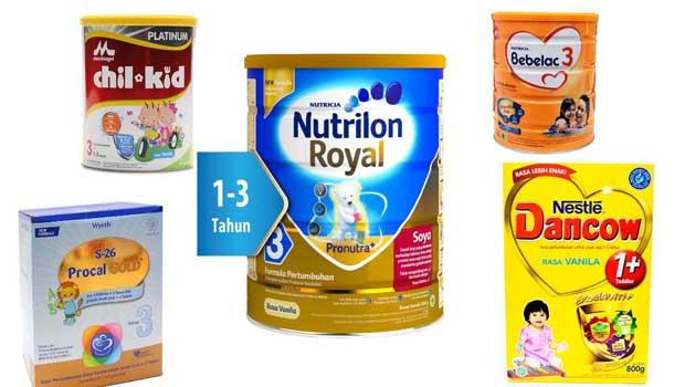 merk susu formula yang bagus untuk kecerdasan otak anak