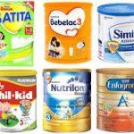10 Merk Susu Formula Yang Bagus Untuk Bayi 0-6 Bulan