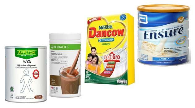 susu penambah berat badan usia 20 tahun keatas