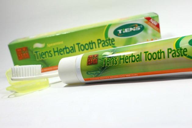 pasta gigi berlubang dan ngilu