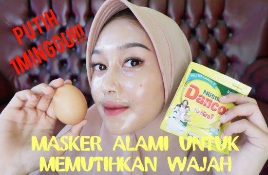 manfaat masker tepung beras